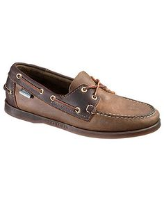 Sebago Shoes, Spinnaker Two-Tone Boat Shoes - Mens Boat Shoes - Macy's Most Comfortable Shoes, Brown Oxfords, Budget Fashion, Biker Boots, Men S Shoes, Shoes Online, Timberland, Boat Shoes, Footwear