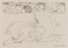 Picasso: Picasso print foorm the Vollard Suite