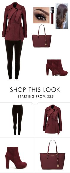 """""""Untitled #39"""" by e35sam ❤ liked on Polyvore featuring River Island, Proenza Schouler, Michael Kors and NARS Cosmetics"""