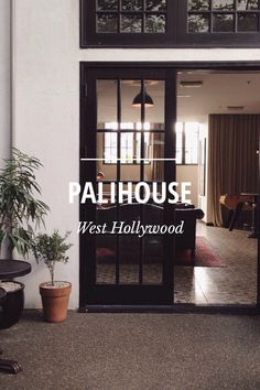 Palihouse, West Hollywood. Recommended hotel.