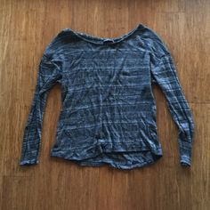 Brandy Melville Knit Sweater Striped multi yarn knit sweater. Loose fitting. Brandy Melville Sweaters Crew & Scoop Necks