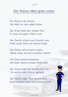 """""""The police are passing by"""" finger play - Kindergarten Activities, Preschool, Baby Singing, Kindergarten Portfolio, Finger Plays, Quotes Deep Feelings, Life Lessons, Most Beautiful Pictures, Police"""
