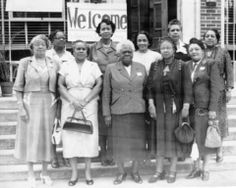 """""""The National Council of Negro Women (NCNW) was founded on December 5, 1935, with the support of the leaders of 28 of the most notable black women's organizations. The founder and president until 1949, Mary McLeod Bethune, envisioned a unified force of black women's groups fighting to improve racial conditions nationally and internationally."""