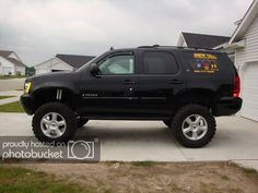 BDS 2 inch body lift on - Tahoe Forum - Chevy Tahoe Forum Lifted Chevy Tahoe, Before After Body, Tahoe Lt, Thanks For The Help, How High Are You, Chevrolet Suburban, Lift Kits, Trailer Hitch, Hot Wheels