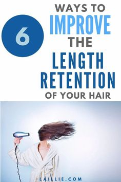 6 Ways To improve the length retention of your hair. When growing out your hair it is not enough to just grow it out. It is super important to learn how to improve length retention. Then, your hair will be a lot healthier and you won't need to get as many trims. Learn how to improve your hair health by incorporating these six-length retention and haircare tips. Improving the length retention of your hair is a hair care tip go grow out your hair. How To Cut Your Own Hair, Your Hair, Hair Trim, Womens Wellness, Goal Quotes, Motivation Goals, Wand Curls, Hair Care Tips, Hair Health