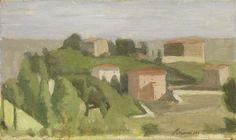 Giorgio Morandi (1890-1964) Paesaggio, 1960