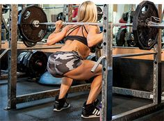 There's nothing quite like the feeling you get after a super tough leg workout. If you haven't felt it in a while, then you need to try Ashley Hoffmann's leg smash. It's brutal, but it's exactly what you need for strong, statuesque legs!