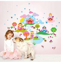 Handige en kleurrijke muurstickers kinderkamer - Moeders