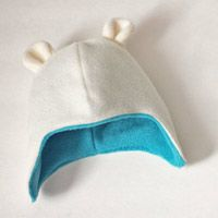 Tutorials - lots of them including a baby hat with teddy bear ears.