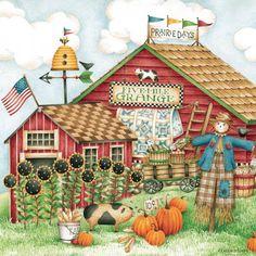 Debbie Mumm - Somogyi Erika - Álbuns da web do Picasa Country Crafts, Country Art, Country Style, Casa Halloween, Happy Halloween, Country Paintings, Gif Animé, Fall Pictures, Autumn Art
