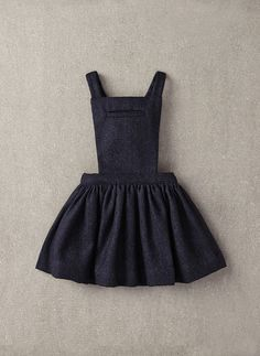 Nellystella Ella Dress in Navy Wool - N15F012
