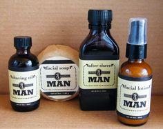 Herban Lifestyle Man Organic Vegan Grooming Gift Set