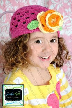 Beanie Hat Crocheted The Mary Louise