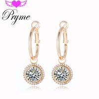 Pryme DIY Vintage Luxurious 18k Gold Plating Party Earrings Jewelry Copper…