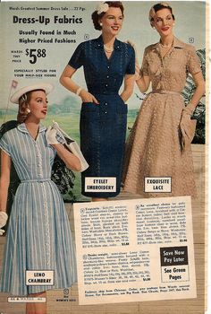 Elegantly lovely summer dresses from 1959. /KateEmHandmade/1950s-dresses-and-suits-from-adverts-and-catalogue/     BACK