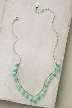 Lowlands Necklace #anthropologie