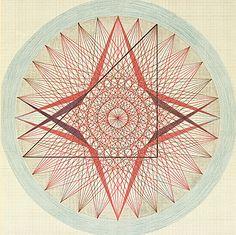 """Emma Kunz ~ """"La cuaternidad es un arquetipo que, por así decirlo, se presenta universalmente. Es la premisa lógica de todo juicio de totalidad. Si se quiere llegar a un juicio de este tipo, éste debe tener un aspecto cuádruple. Jung"""