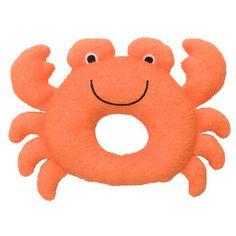 Plush Crab Rattle