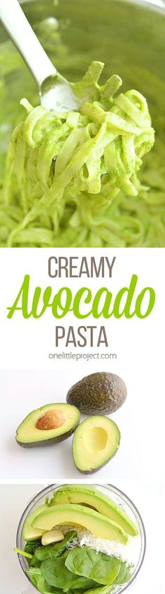 This creamy avocado pasta TASTES AMAZING, it's healthy and it so easy to make! Creamy delicious goodness without any actual cream! I wish I had tried it sooner!