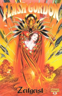 Flash Gordon: Zeitgeist : Chapter Four The Great Escape ____Written By Eric Trautmann , Art By Daniel Lindro , Cover Art Alex Ross , The Story __Flash Gordon and his allies -- the plucky Dale Arden an