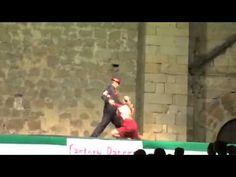 Angelines Gómez - Factory Dancers Actuacion Miajadas 4-8-2014 Tango