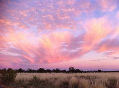 Sunrise at Uluru was breathtaking.