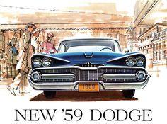 Plan59 :: Classic Car Art :: Vintage Ads :: 1959 Dodge