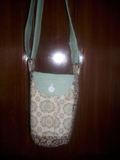 Water/sport Bottle Sling/Carrier w/ by AZinnCreativeStitch on Etsy, $20.00