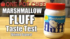 NEW VIDEO: Taste Test: Marshmallow Fluff (USA) Watch the video here: http://youtu.be/A7BFHMXJJn4