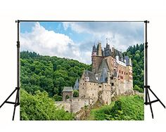 Purchase Green Forest Castle Photography Backdrop Nature Background from Ann Pekin Pekin on OpenSky. Castle Backdrop, Indoor Shooting, Old Building, Digital Photography, Barcelona Cathedral, Digital Prints, Backdrops, Water, Green