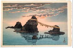 1935 - Hasui, Kawase -Futamigaura