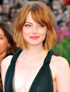 HAIR CRUSH: EMMA STONE'S NEW BOB