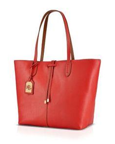6bcf5edb6a Lauren Ralph Lauren Tote - Crawley Unlined Sale - Handbags - Bloomingdale s