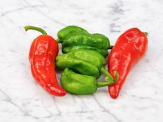 """Most of the peppers are mild, but an occasional hot one led a writer to call eating them """"Spanish Roulette!"""""""
