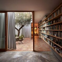Design inspo: 10 stunning home libraries to inspire you to create one too - STYLE CURATOR - House With A Garden Home Design, Patio Design, Interior Design, Modern Design, Minimalist Design, Design Ideas, Design Homes, Interior Concept, Design Art