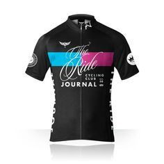 The Ride Journal cycling jersey