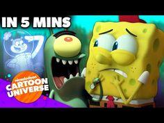 SpongeBob Helps Plankton the Kitchen!   'Kitchen Sponge' in 5 Minutes   Nickelodeon Cartoon Universe