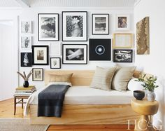 The house is a study in how to decorate a rental simply and stylishly.