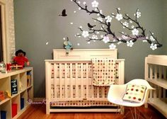 Wall Decals Cherry Blossom branch wall decals by DreamKidsDecal, $48.00
