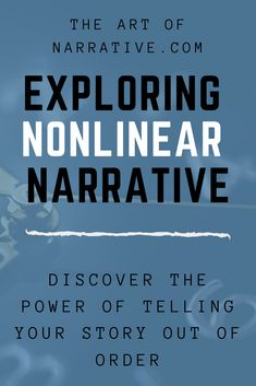 Learn the power of nonlinear narratives, and how the best authors this tool to create themes and highlight character arcs! Memoir Writing, Book Writing Tips, Fiction Writing, Writing Resources, Writing Help, Writing Skills, Writing Prompts, Writing Ideas, Writing Worksheets