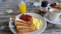 Breakfast Parador Vistamar,Quebradillas PR