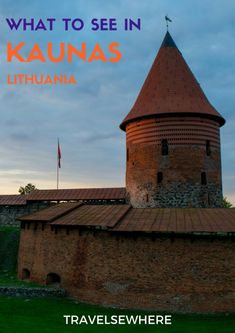 What to see in the delightfully casual city of Kaunas in central Lithuania from its Old Town to Kaunas Castle, via @travelsewhere