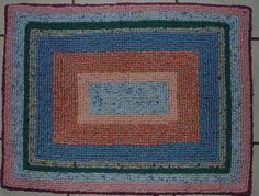 my second lockerhooked rug-Created by Amy Mueller