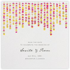 Under the Toran (Save the Date) - Paperless Post
