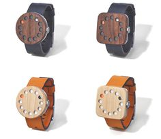 Elegant Wooden Watch Gives a Modern Analog Take on Time