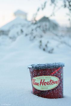 Tim Hortons!! I'll have a medium double-double please! :D