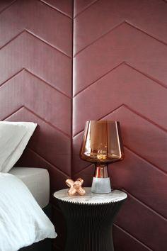 Tom Dixon penthouse at Greenwich peninsula   Design Hunter #marble #copper