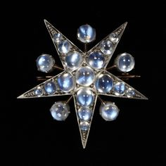 """aleyma: """"Brooch, made in England in the late 19th century (source). """""""