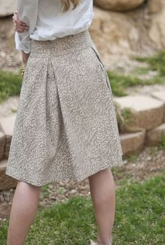 Skirt tutorial by shari