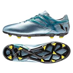 The latest version of Adidas Messi soccer cleats brings us the Adidas Messi15.1 soccer cleat. First featured during the 2015 Champions League final, these soccer cleats excel at delivering the best speed, touch, and control.  Get your pair today at SoccerCorner.com  http://www.soccercorner.com/Adidas-Messi-15-1-FG-AG-Soccer-Cleats-p/sm-adb23773.htm